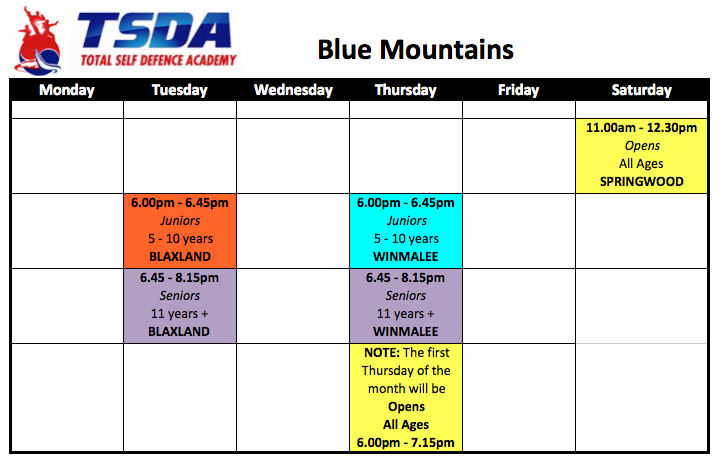 TSDA Blue Mountains 2
