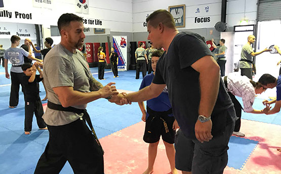 Arm Defence Hapkido 1